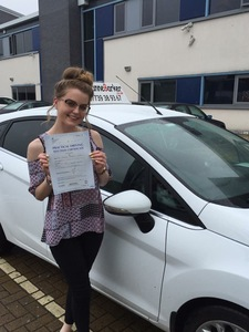 I passed my driving test