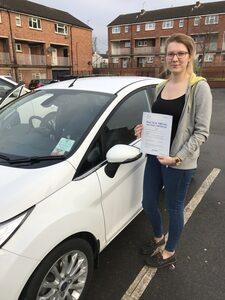 passed my driving test in Heckmondwike