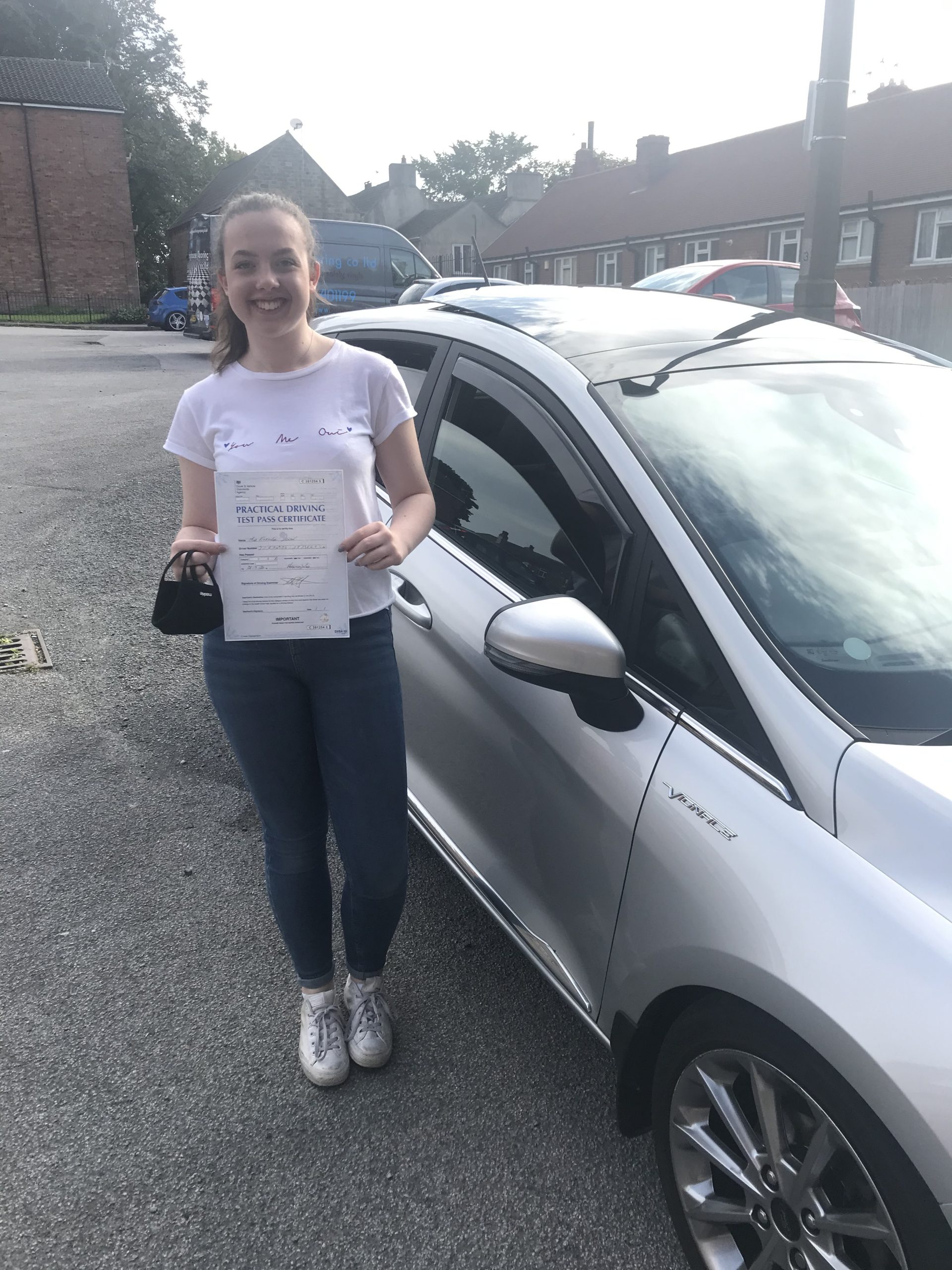 another learner driver passes their driving test with Leanne Barker Driving School